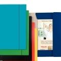 Mapă carton 400 gr / mp, plastifiat, cu elastic ( diverse culori)