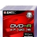 DVD-R 4.7GB 16X SLIM CASE
